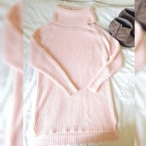 NWT A New Day long pink sweater